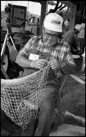 Primary view of object titled '[Net Tying Demonstration]'.