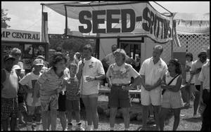 Primary view of object titled '[Watermelon Seed Spitting Contest]'.