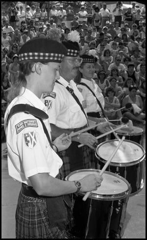 Primary view of object titled '[San Antonio Pipes and Drums]'.