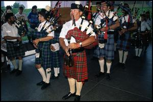 Primary view of [San Antonio Pipes and Drums Parade]