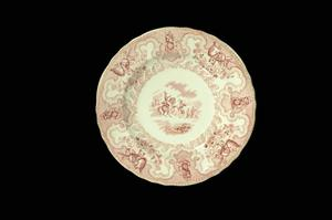 Primary view of object titled 'Texian Campaigne plate'.