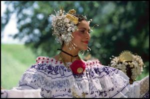 Primary view of object titled '[Panamanian Folk Performer]'.
