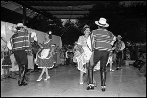 Primary view of object titled '[Folkloric Chilean Dancers]'.