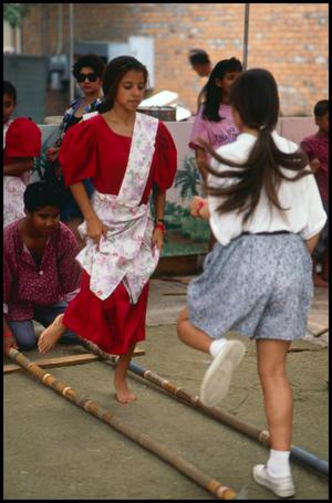 Primary view of object titled '[Tinikling Performance]'.