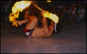 Primary view of object titled '[Hawaiian Flame Dancer ]'.