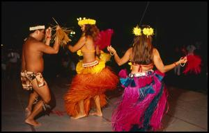 Primary view of object titled '[Hawaiian Dancer Performance]'.