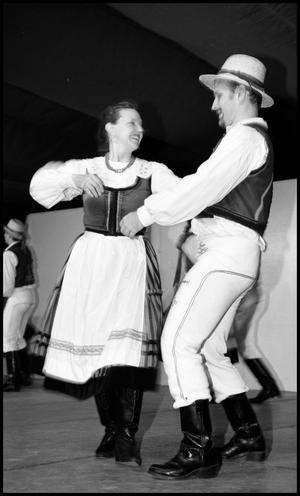 Primary view of object titled '[Pair of Hungarian Dancers]'.