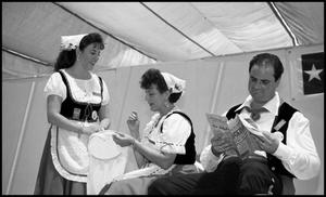 Primary view of object titled '[Italian Tarantella Dancers Resting]'.