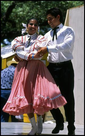 Primary view of object titled '[Ballet Folklorico Dancers]'.