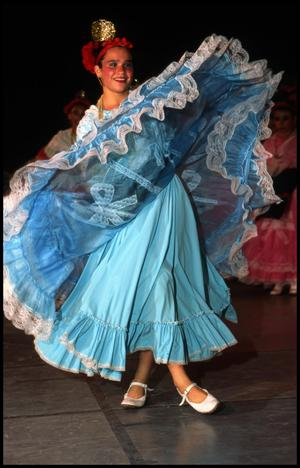 Primary view of object titled '[McAllen's Ballet Folklorico]'.
