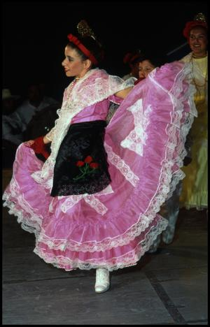 Primary view of object titled '[Ballet Folklorico Dancer]'.