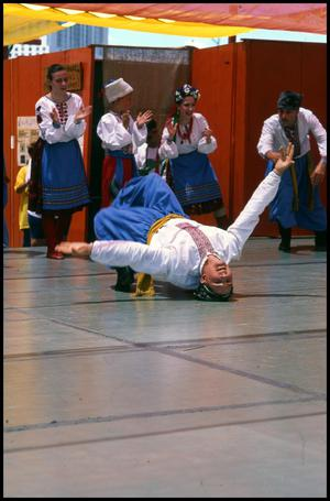 Primary view of object titled '[Ukrainian Dance Performance]'.