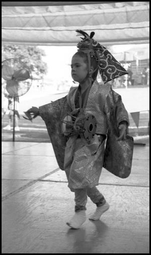 Primary view of object titled '[Child Sakura Dancer]'.