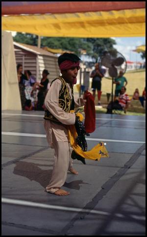 Boy Dancer from the Pakistan-American Association, 22nd Annual Texas Folklife Festival