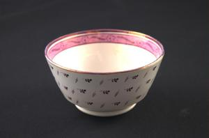Primary view of object titled 'Lusterware waste bowl'.