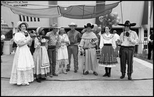 Primary view of object titled '[Fiesta Texas Singers]'.