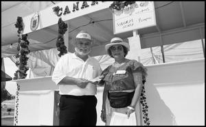 Primary view of object titled '[Canary Islanders Association Food Booth]'.