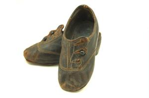 Primary view of object titled 'Children's shoes'.