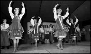 Primary view of object titled '[Ukrainian Dancers of Dallas]'.