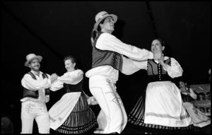 Primary view of object titled '[Csardas Hungarian Dancers Onstage]'.