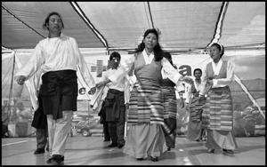 Primary view of object titled '[Tibetan Association of Austin Folkdancers]'.