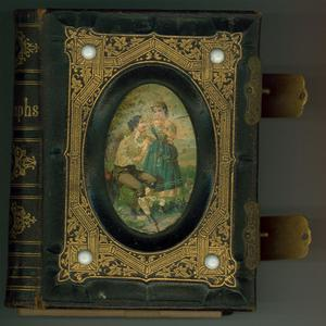 Primary view of object titled 'Magee family photograph album'.