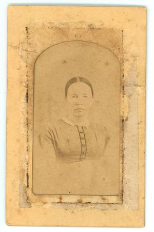 Primary view of object titled 'Portrait of Martha C. (Dickson) Magee'.