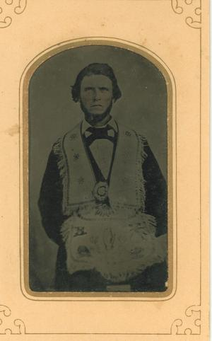 Primary view of object titled 'Portrait of Felix W. Magee'.