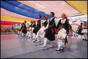 Primary view of object titled '[Parea Hellas the Greek Folk Dancers]'.