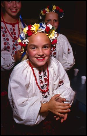 Primary view of object titled '[Polish Folk Dancers of San Antonio]'.