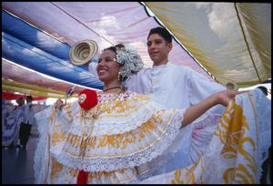 Primary view of object titled '[Panamanian Folklore Dancers]'.