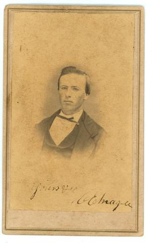 Primary view of object titled 'Portrait of C.E. Magee'.