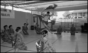 Primary view of object titled '[Karilagan Philippine Cultural Group Dancers]'.