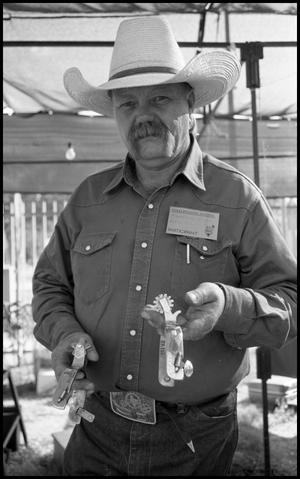 "Primary view of object titled '[Frank ""Buddy"" Knight the Spur and Bit Maker from Marfa]'."