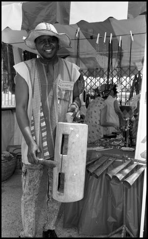 Primary view of object titled '[Nigerian Booth]'.