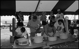 Primary view of object titled '[Corn Shucking Contest]'.