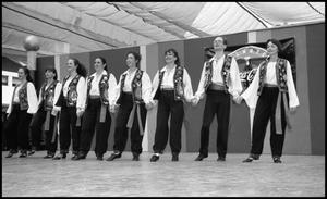 Primary view of object titled '[Shalom Israeli Dance Troupe]'.
