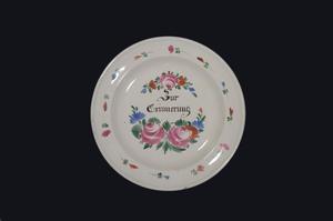 Zur Erinnerung, In Remembrance, Commemorative plate