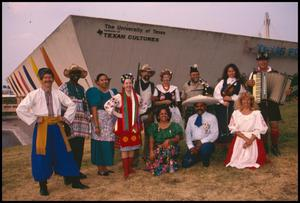 Primary view of object titled '[1997 Texas Folklife Festival Participants ]'.