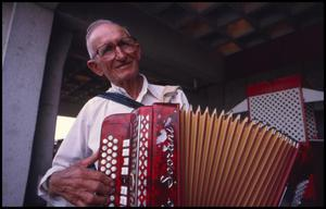 Primary view of object titled '[Joseph Kaspar the Czech Accordianist]'.
