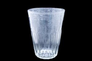 Primary view of object titled 'Glass flip'.