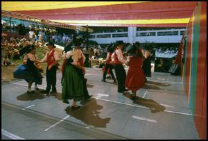 Primary view of object titled '[Alsatian Dancers from Castroville]'.