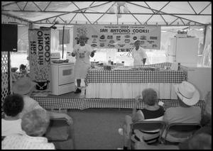 Primary view of object titled '[San Antonio Cooks Booth]'.