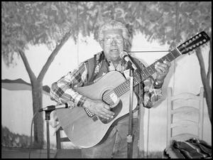 "Primary view of object titled '[H.P. ""Beto"" Lopez the Ranchero Cook and Singer]'."