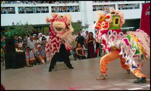 Primary view of object titled '[San Antonio Lion Dance Association Chinese Dancers]'.