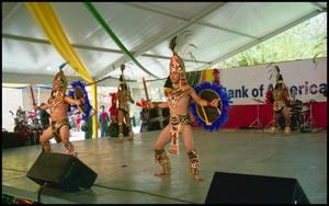 [Mixteco Ballet Folklorico Aztec Dancers]