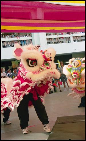 [San Antonio Lion Dance Association Chinese Dancers]