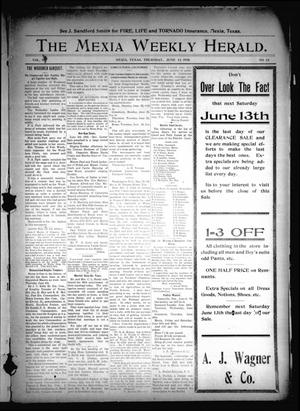 Primary view of object titled 'The State Herald (Mexia, Tex.), Vol. 9, No. 24, Ed. 1 Thursday, June 11, 1908'.