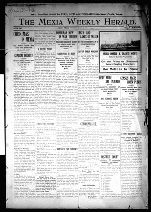 Primary view of object titled 'The Mexia Weekly Herald (Mexia, Tex.), Vol. 12, Ed. 1 Thursday, January 5, 1911'.