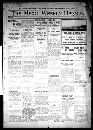 The Mexia Weekly Herald (Mexia, Tex.), Vol. 12, Ed. 1 Thursday, January 5, 1911
